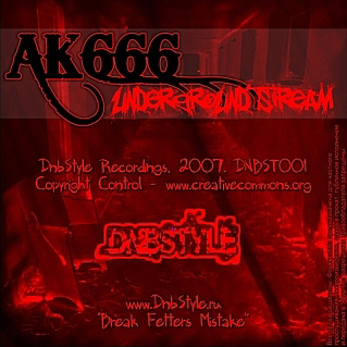 DNBST001 - Underground stream - DnbStyle Recordings
